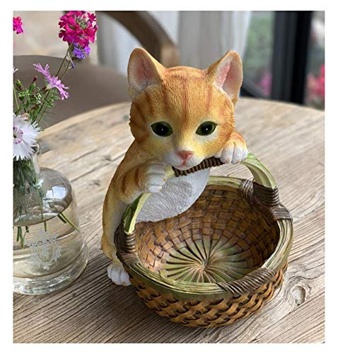 HaoLi Esculturas Decoraciones de Almacenamiento Accesorios para el hogar Americano Decoración de la Sala de Estar Entrada Zapatero Ponga la Llave en el Porche de Muebles para Gatos