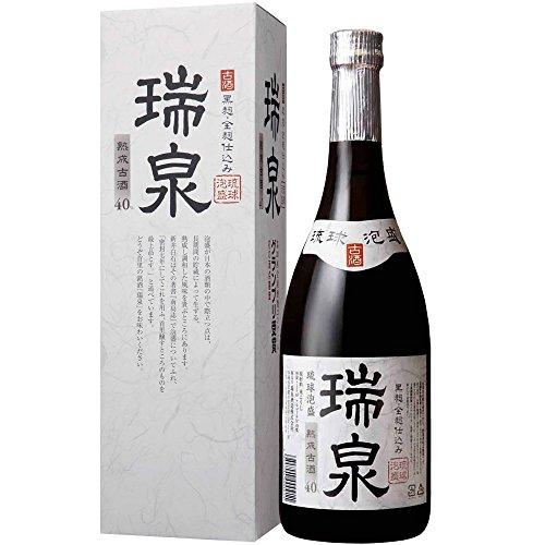 瑞泉 熟成古酒 黒麹 全麹仕込み 泡盛 40度 720ml