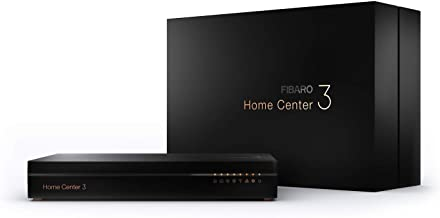 Fibaro Home Center 3 / Z-Wave Plus Smart Home Hub, Smart Home Management System, FGHC3 EU Black