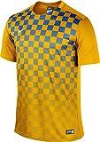 NIKE Camiseta De Fútbol De Precisión III, Hombre, Oro_Nero_Bianco, XL