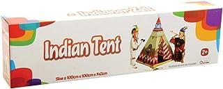 Indiantält Wigwam 100 x 100 cm Micasa tipi barntält plast tält för barn lektält