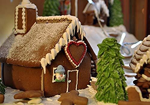 XZJXGZ puzzel voor 1000 stuks Classic volwassen Chocolade huis 70x50cm kinderen voor educatief speelgoed verjaardagscadeau woondecoratie puzzel