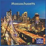 Massachusetts Calendar 2022: Official US State Massachusetts Calendar 2022, 16 Month Calendar 2022