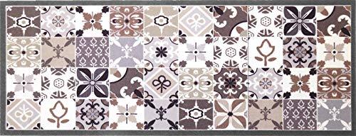 oKu-Tex Fußmatte | Schmutzfangmatte | Mosaik Muster Bunt |