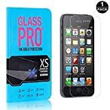 Bear Village® iPhone 5C Trasparente 9H Vetro Temperato, Nessuna Bolla, HD Anti-Impronte P...