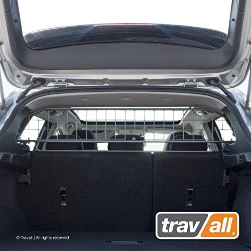Travall Guard Hundegitter Kompatibel mit Nissan Qashqai (Ab 2013) Rogue Sport (Ab 2017) TDG1538 - Maßgeschneidertes Trenngitter in Original Qualität