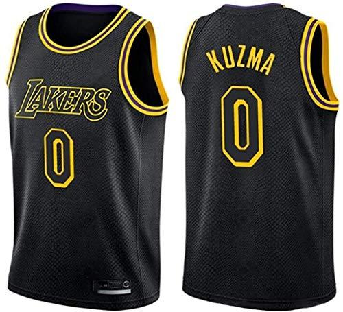 llp # 0 Kyle Kuzma Basketball Jersey Los Angeles Lakers Sudadera Unisex Tamaño estándar Chaleco (Size : Large)