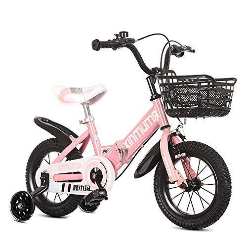 QULONG Bicicleta Infantil a Prueba de Golpes Bicicleta