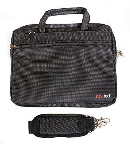 Navitech schwarz Premium Case/Cover Trage Tasche für das Dragon Touch V10 10 inch GPS Android Tablet