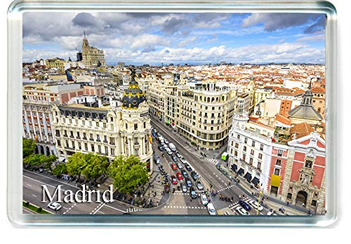H241 Madrid Imán para Nevera Spain Travel Fridge Magnet