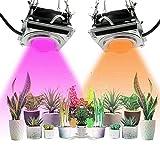 GUOYULIN Lámpara de Planta COB LED Lámpara Cultivo Full Spectrum, Lámpara de Crecimiento para Plantas de Interior, Hidropónico, Invernadero, Suculentas, Semillas, Verduras Y Flores