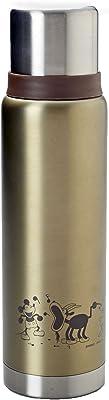 パール金属 ディズニー 蒸気船ウィリー 水筒 500ml 直飲み ダブル ステンレス ボトル MA-2106