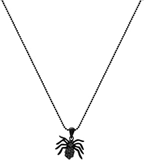 Sexy Crystal Spider Pendant 3/4