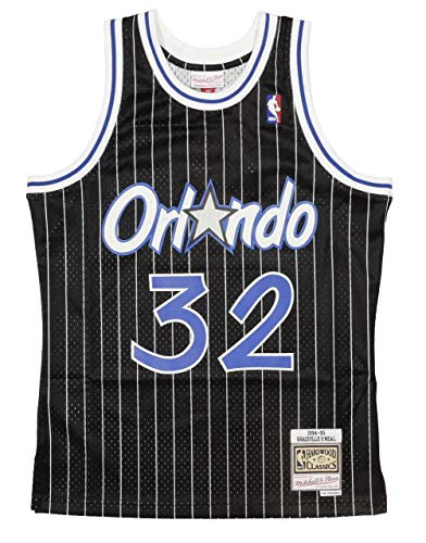 Mitchell & Ness Shaq O'Neal #32 Orlando Magic 1994-95 Swingman NBA Trikot Schwarz, XL