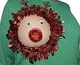 Ugly Christmas Sweater, Reindeer Boob,...