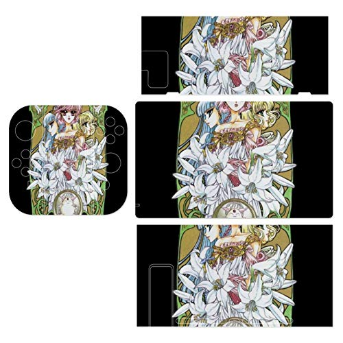 Magic Knight Rayearth Flower Montage Theme Switch exclusive skin, Nintendo Switch sticker protective film, Switch full device exclusive skin sticker protective film