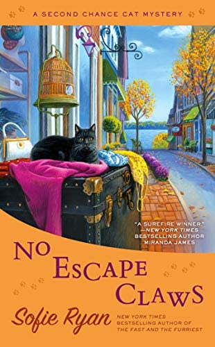 No Escape Claws Second Chance Cat Mystery product image