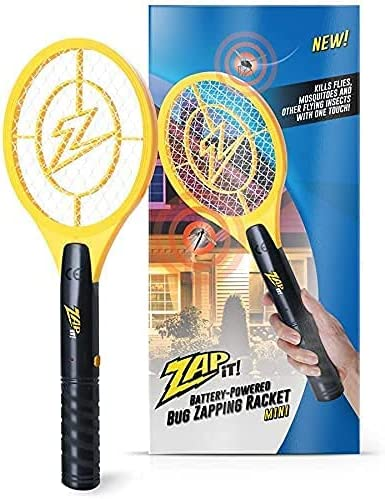 high quality Zap lowest It Bug Zapper Battery Powered online (2xAA Included) Bug Zapper Racket, 3,500 Volt online sale