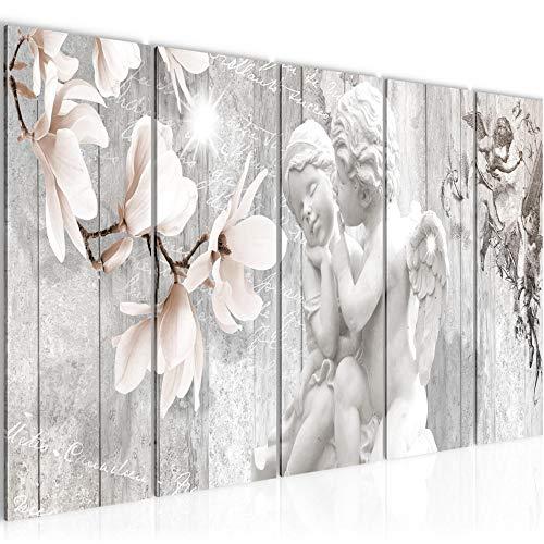 Quadro Angelo Fiori Stampa D'Arte Tela Non Tessuta Decorazione Murale Soggiorno Camera Da Letto 005956c