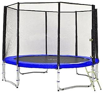 Simple Buy - Typ Classic - Cama Elastica - Trampoline de Jardin - Diferentes tamaños y Colores: probados para Seguridad y Funcionamiento (305cm con 8 Polos, Azul)