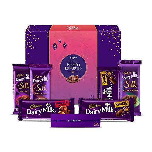 Cadbury Assorted Gift Pack Rakhi Special Sleeve, 278g