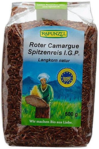 Rapunzel Roter Camargue Spitzenreis natur, 1er Pack (1 x 500 g) - Bio