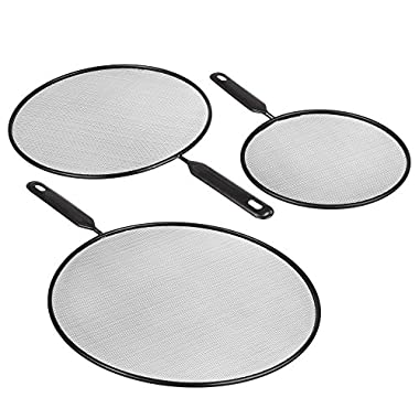 Splatter Screen Guard for Cooking Grease Shield Cover for Frying Pan 8 10 12 Kitchen Duty Quality