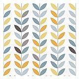 Vinilo Adhesivo para Muebles y Pared, 45 x 200 cm, Trigo, Multicolor, Fondo Blanco, VNL-005