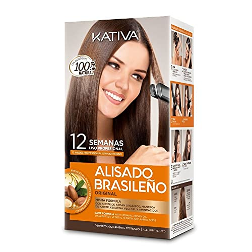 Kativa Kit Alisado Brasileño - Tratamiento...