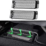 Tesla Model 3 Backseat Air Vent Cover Air Flow Vent Grille Protection Set of 2