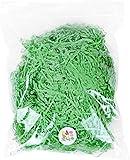 1/2 LB Super Large Pack Easter Green Grass Recyclable Paper Shred for Easter Basket Filler Creative Eggs Decor Filler Gift Wrapping & Basket Filling