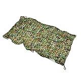 ZhHOME Camuflaje Camo Netting, Red de Camuflaje Exterior para Acampar Caza Militar Disparo de Pesca (Disponible en Varios tamaños, Jungle Camouflage Colo) (Tamaño : 10 * 10M)