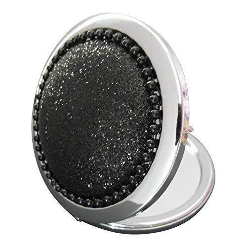 Tout That Glitters Noir Scintillant Miroir Compact Boîte Cadeau Chaussette