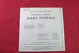Mary Poppins: Columbian Pressing: WDX-108: Vinyl LP: (1964)