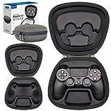 Sisma Funda rigida para Mando Wireless DualShock 4 de PS4, Estuche de Viaje para Guardar y Proteger Gamepad Original de Playstation 4, Edición Especial
