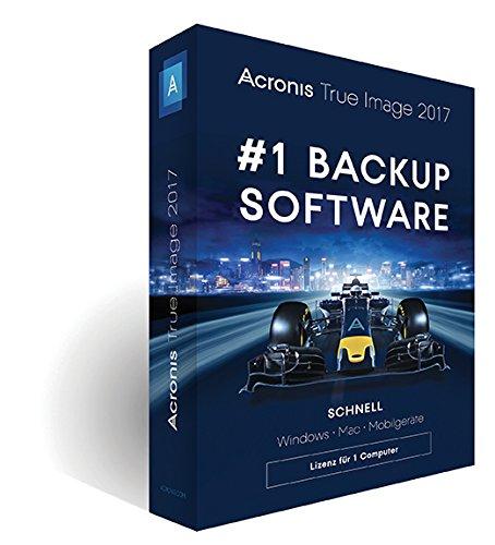 Acronis True Image 2017 - 1 Computer