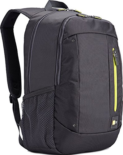 Case Logic WMBP-115GZ Zaino Jaunt per Laptop da 15.6' e custodia per tablet, 23L, Grigio