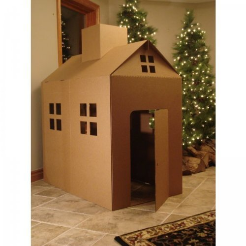 Cardboard Playhouse Corrugated Play House