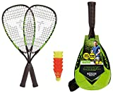 Talbot-Torro Speed-Badminton Set Speed 5500, 2 handliche Alu-Rackets 56,5cm, 6 windstabile Bälle,...