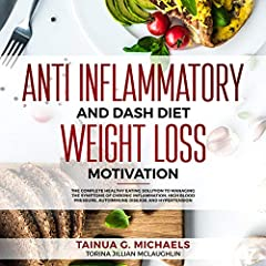 Anti Inflammatory and DASH Diet Weight Loss Motivation