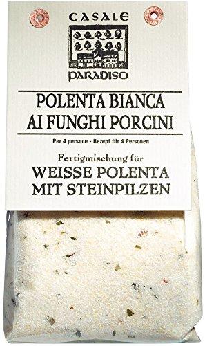Casale Paradiso Polenta bianca ai funghi porcini / Weiße Polenta mit Steinpilzen