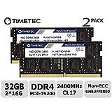 Timetec Hynix IC 32GB Kit (2x16GB) ノートPC用メモリ DDR4 2400MHz PC4-19200 1.2V CL17 2Rx8 260pin SODIMM 永久保証32GB Kit (2x16GB)