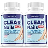 (2 Pack) Clear Nails Plus Extra Strength Nail Formula Probiotic Pills Fungus Treatment Roy Williams (120 Capsules)