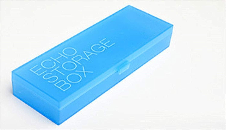 Mon5f stationery stationery stationery Bürobedarf Federmäppchen Einfach Transluzent Student Pen Box Federmäppchen Bleistiftbeutel (Hellblau) B07MVPQ386 | Verrückte Preis  51ab6a
