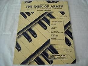 Best the sheik of araby sheet music Reviews