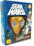 Rubies - Máscara oficial de Yoda Ben Cooper Edition-ST-34965 Star Wars para adulto,...