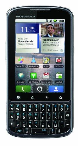 Motorola Pro Smartphone (7,8 cm (3,1 Zoll) Display, Touchscreen, 5 Megapixel) schwarz
