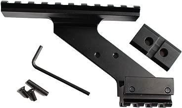 FMN-Caza T/áctico 20 mm 13 Ranuras Picatinny Weaver Rail Adaptador de la Base Rifle de Caza Pistola Alcance Convertidor Mira l/áser Base de Linterna de Montaje