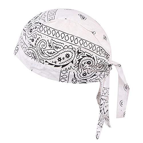 Bandana à séchage rapide en plein air, bandana à séchage rapide pour le sport, plein air, bandana à séchage rapide - Bandeau classique unisexe Amoeba Pirate Headscarf - Casque Viking pour hommes