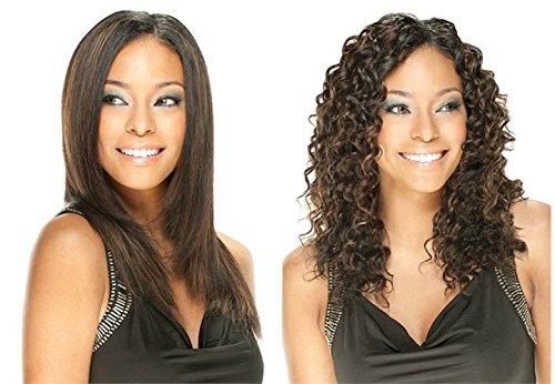LOOSE DEEP 4PCS (4 Med. Brown) - Model Model REMIST Indian Remy Wet & Wavy 100% Human Hair Weave Extensions